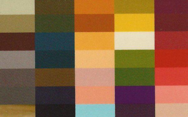 Kleurkaartje herfst