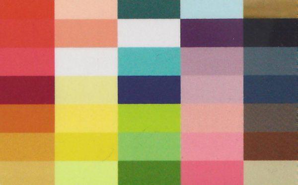 Kleurkaartje lente